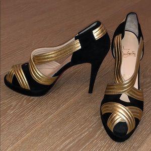 Christian Louboutin Josefa Platform Sandals (9.5)